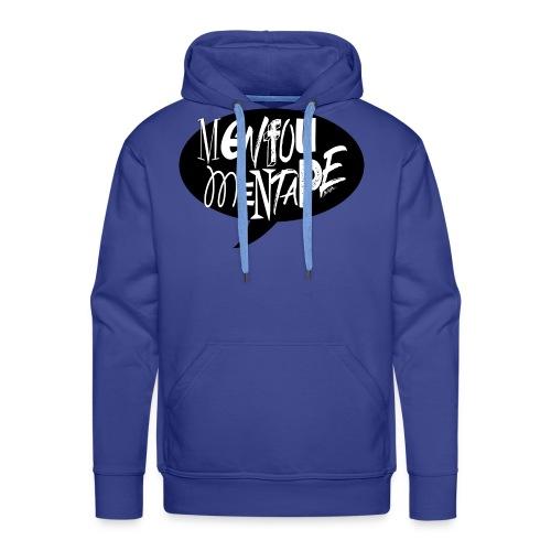 La bulle MENFOUMENTAPE by Alice Kara - Sweat-shirt à capuche Premium pour hommes