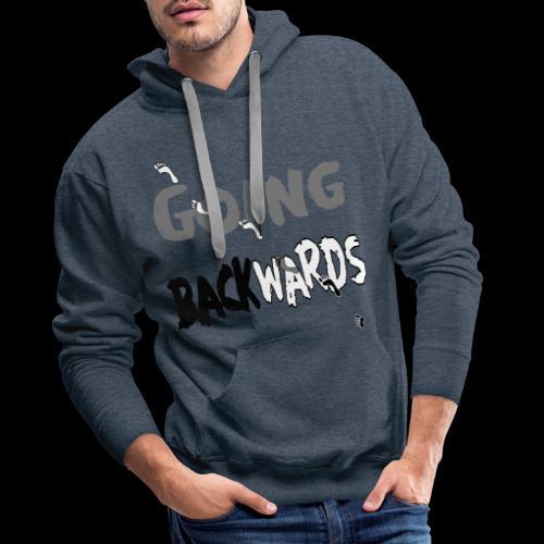 backwardgoing - Männer Premium Hoodie
