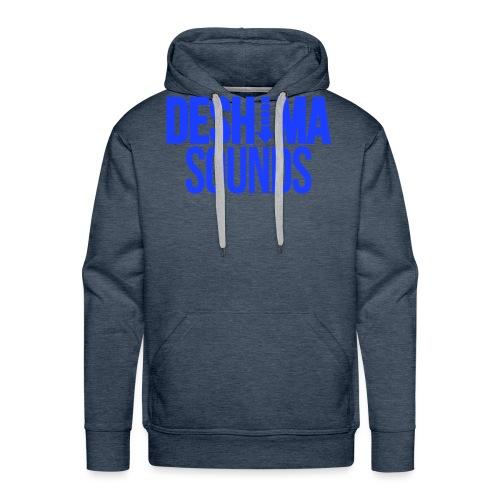 Blue - Mannen Premium hoodie