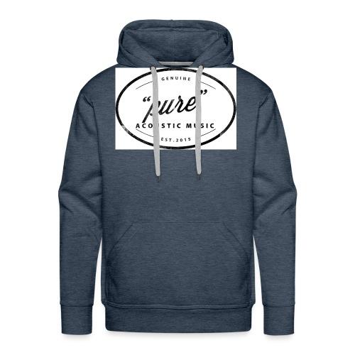 pure logo gross - Männer Premium Hoodie
