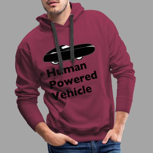 Quest Human Powered Vehicle 2 black - Miesten premium-huppari