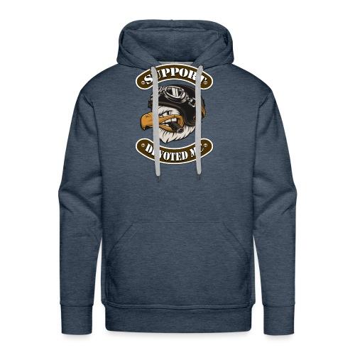 T-Shirt DEVOTEDMC SUPPORTSHOP10003 - Premium hettegenser for menn
