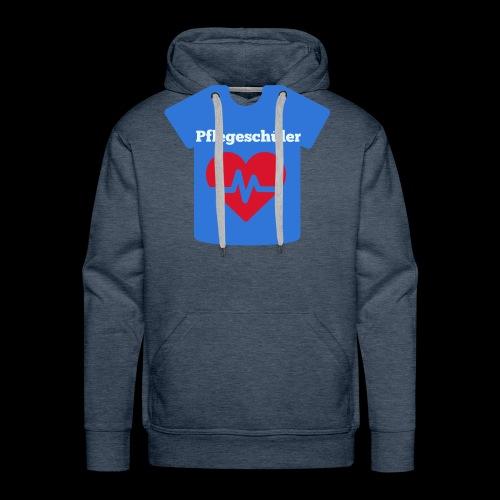 Pflege Tshirt - Männer Premium Hoodie