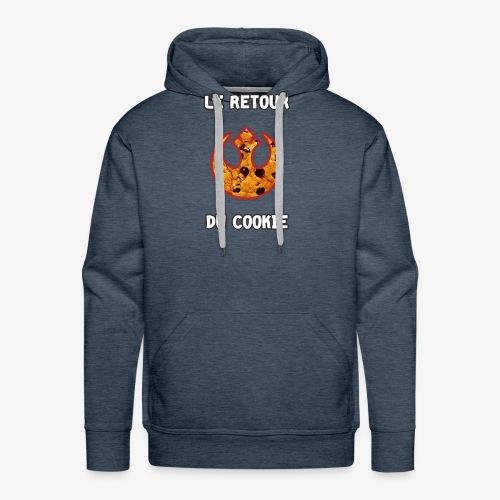 Le Retour du Cookie - Sweat-shirt à capuche Premium pour hommes