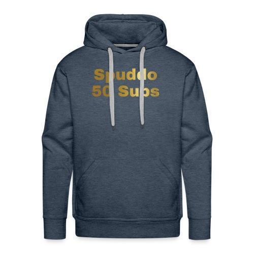 Spuddo 50 Subs Merch - Men's Premium Hoodie