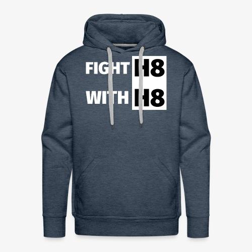 FIGHTH8 bright - Men's Premium Hoodie
