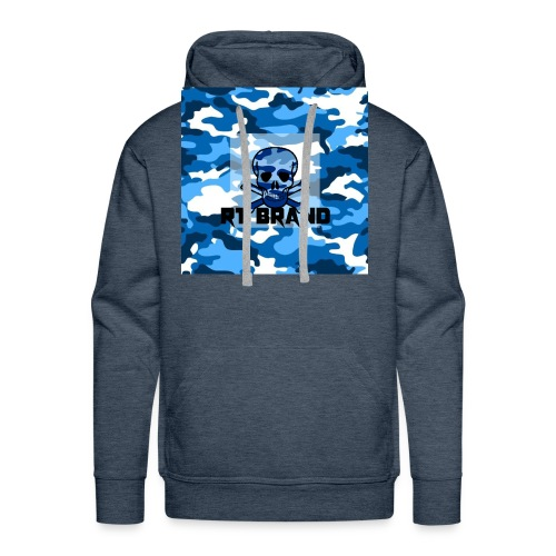 RT BRAND camo - Mannen Premium hoodie