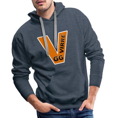 GG VIRRE white - Premiumluvtröja herr
