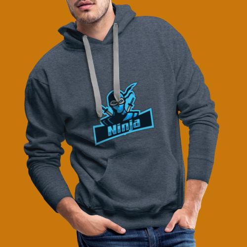 BlueNinja - Männer Premium Hoodie