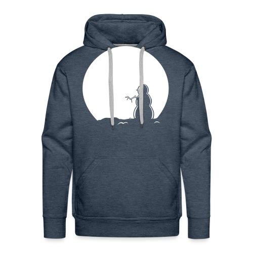 Snowman Hoody - Men's Premium Hoodie