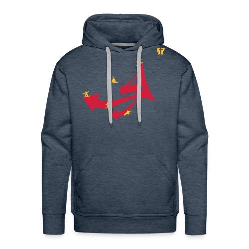 snowboarding gp03 - Mannen Premium hoodie