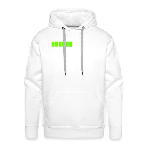 tendance réveil en cours veuillez patienter - Sweat-shirt à capuche Premium pour hommes