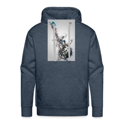 Guitare - Sweat-shirt à capuche Premium pour hommes