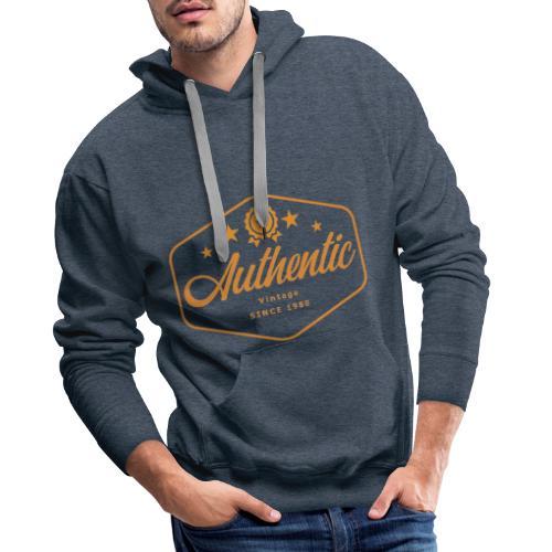 MonkeyShy authentic logo - Sweat-shirt à capuche Premium pour hommes