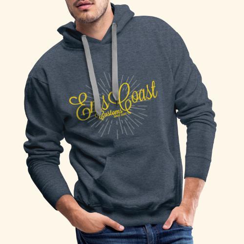 emscoastcustoms logo - Männer Premium Hoodie