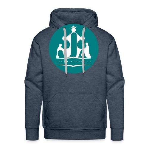 Jesus Attitude # - Sweat-shirt à capuche Premium pour hommes
