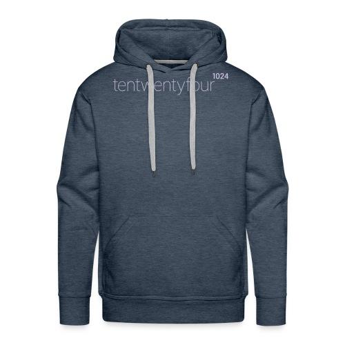 1024_LOGO_blue_ - Männer Premium Hoodie