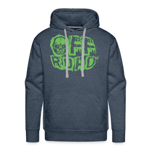 11A-13 OFF ROAD SKULL Textiles and gift products - Miesten premium-huppari