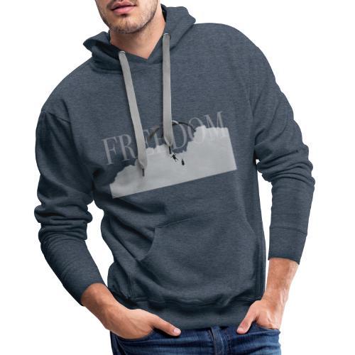 Freedom #1 - Voler en toute liberté - Sweat-shirt à capuche Premium pour hommes