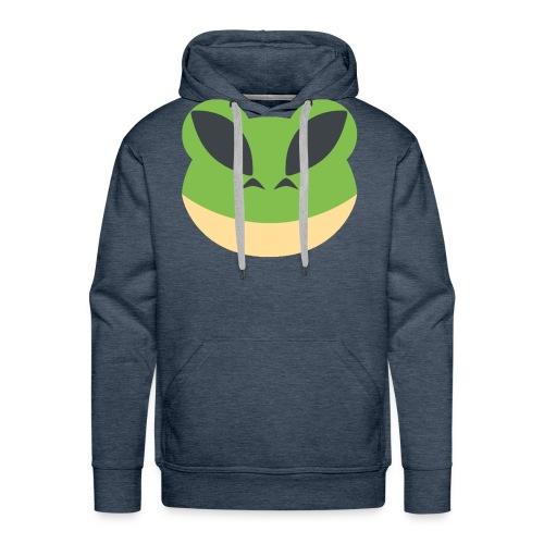 frogparent png - Men's Premium Hoodie