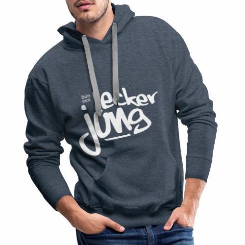 Lecker Jung - Männer Premium Hoodie