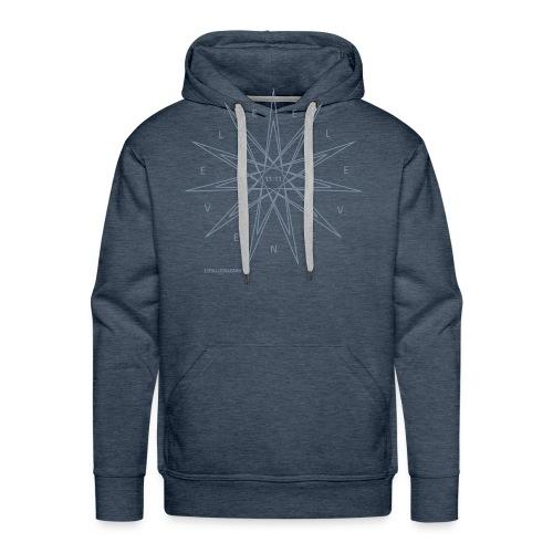 estrella definitivo - Sudadera con capucha premium para hombre