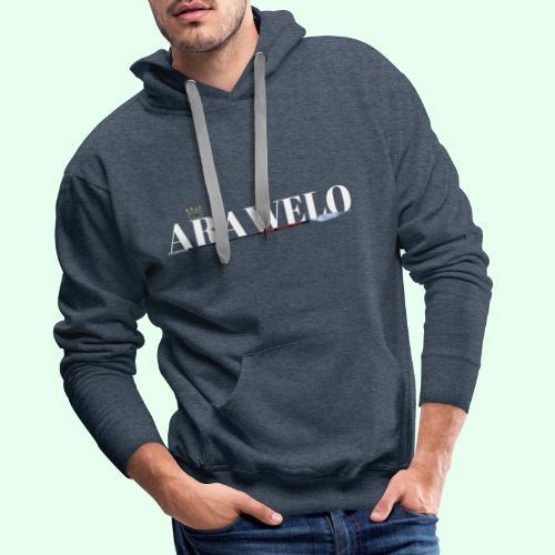 The ARAWELO Collection Gold Crown - Men's Premium Hoodie