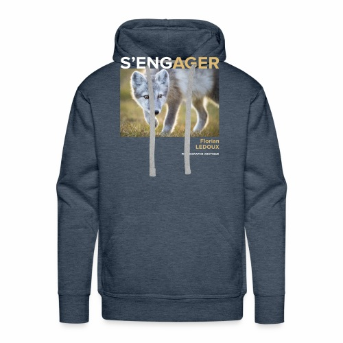 1 Achat = 1 Don à l'association ArcticArtsProject - Sweat-shirt à capuche Premium pour hommes