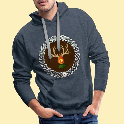 Médaillon de Neved - Sweat-shirt à capuche Premium pour hommes