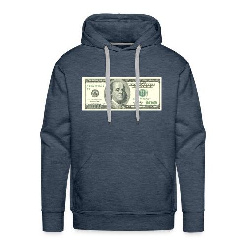look at me money - Men's Premium Hoodie