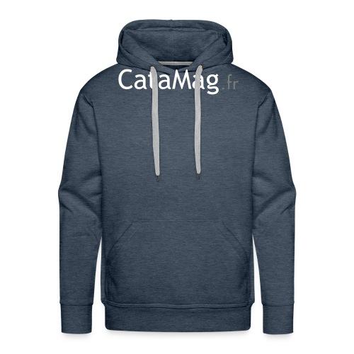 logocatamagfrv - Sweat-shirt à capuche Premium pour hommes