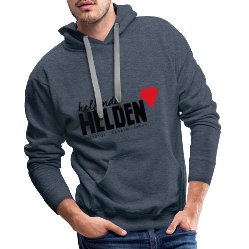 Helfende Helden Logo - Männer Premium Hoodie