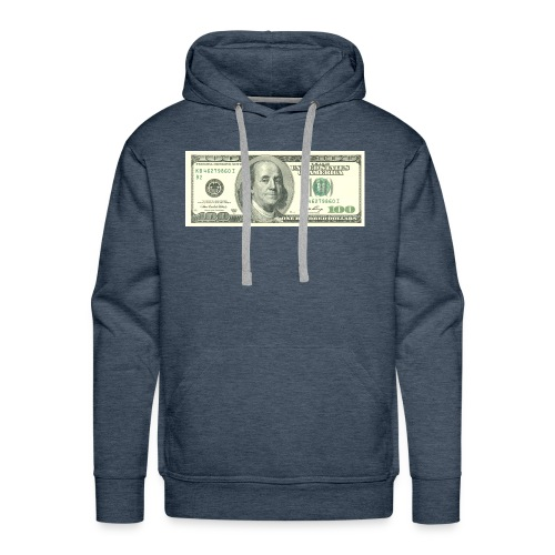 look at me money - Men's Premium Hoodie