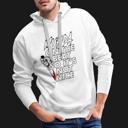 Murda on the beat - Sweat-shirt à capuche Premium pour hommes