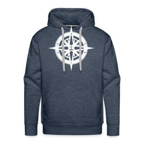 kompass - Männer Premium Hoodie