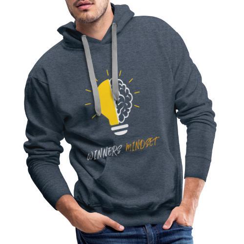 Winners Mindset - Ein Design für Gewinner - Männer Premium Hoodie