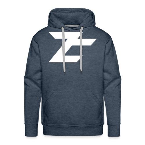 Logo ZehClan 2D - Sweat-shirt à capuche Premium pour hommes
