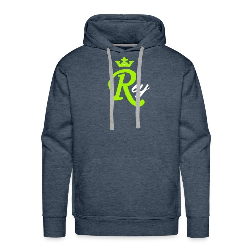 Rey - Sudadera con capucha premium para hombre