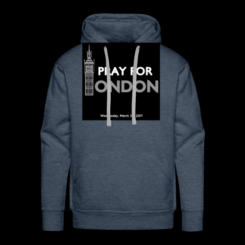 PRAY FOR LONDON - Sweat-shirt à capuche Premium pour hommes