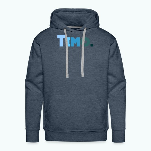Timo in blauwe tinten - Mannen Premium hoodie