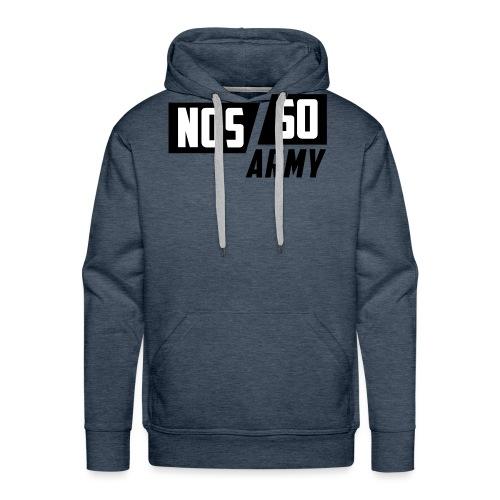 NossoArmy ZWART - Mannen Premium hoodie