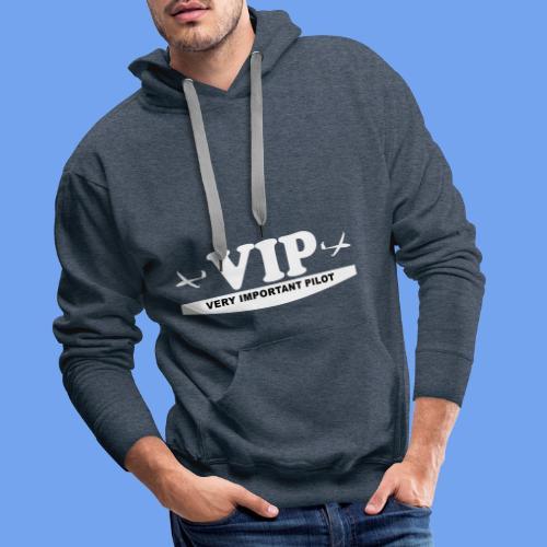 VIP Segelflieger gleiten lustig Segelflugzeug - Männer Premium Hoodie