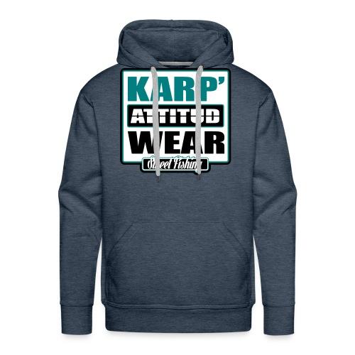 Street Fishing - Sweat-shirt à capuche Premium pour hommes