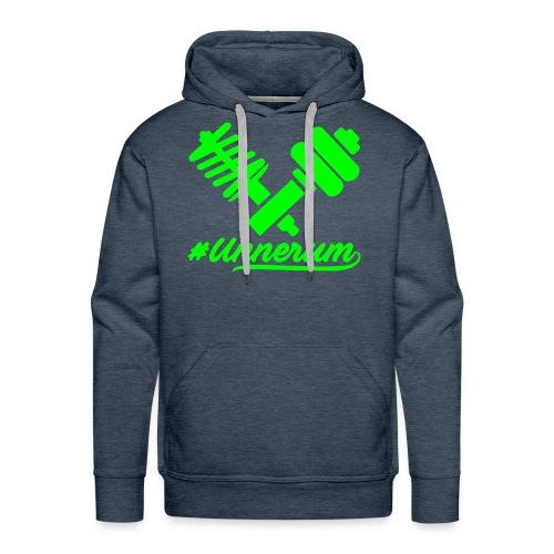 Logo #Unnerum - Männer Premium Hoodie