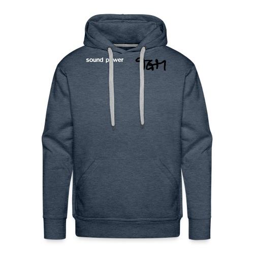 tgm sound powertee130803a - Men's Premium Hoodie