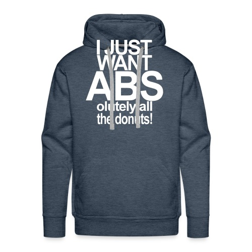 ABSolutely All the Donuts - Männer Premium Hoodie