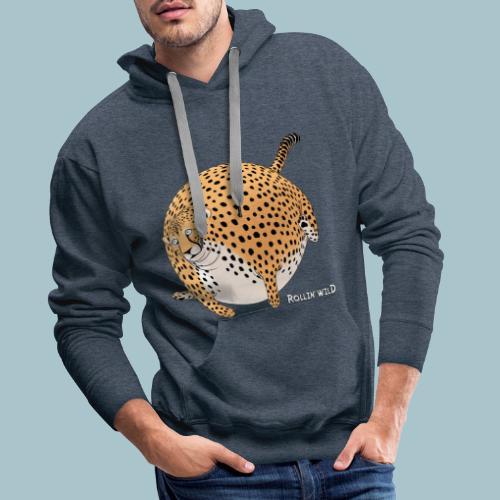 Rollin'Wild - Cheetah - Men's Premium Hoodie