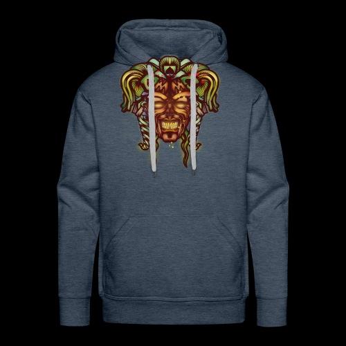 Joker démoniaque - Sweat-shirt à capuche Premium pour hommes