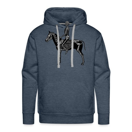 Reiter-Skelett - Men's Premium Hoodie