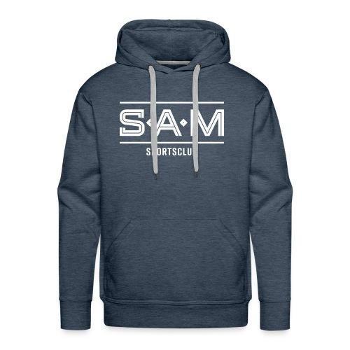 SamSporstclub Logo quer - Männer Premium Hoodie